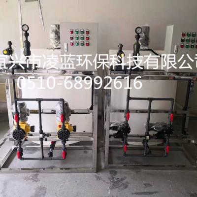 高品质水处理加药装置 PE加药系统