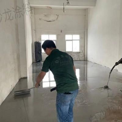 厂房地坪施工 白沙龙无机特种自流平